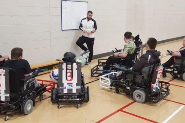Newcastle United Foundation  Powerchair Football Club