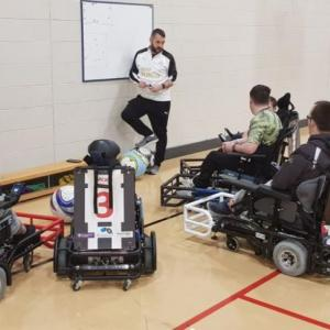 Newcastle United Foundation  Powerchair Football Club