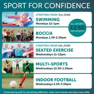 Sport For Confidence - Colchester
