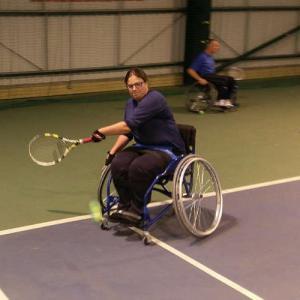 Wheelchair Tennis at Ipswich Sports Club