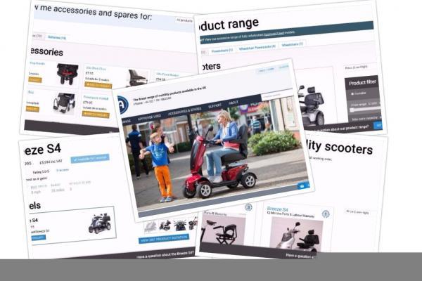 TGA Mobility Website Screenshot
