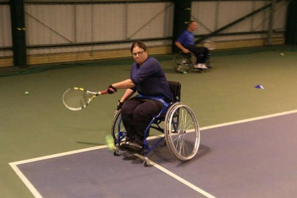 Wheelchair Tennis at Ipswich Sports Club
